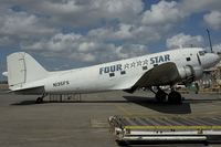 N135FS @ SJU - Four Star DC3 - by Yakfreak - VAP