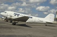 N133FS @ SJU - Four Star DC3 - by Yakfreak - VAP