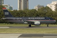 N723UW @ SJU - US Airways Airbus A319