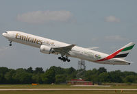 A6-EBH @ EGCC - Emirates 777 - by Kevin Murphy