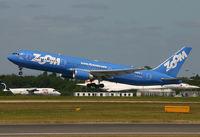 C-GZNA @ EGCC - Zoom 767 - by Kevin Murphy