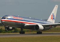 N342AN @ EGCC - AA 767 - by Kevin Murphy