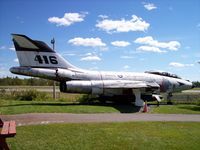 101043 @ CYHZ - CF-101B  416  Atlantic Canada Aviation Museum - by Mark Pasqualino