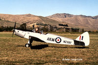 ZK-AKM - DH94 Moth Minor - by Peter Lewis
