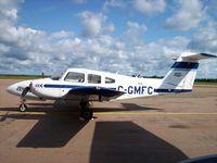 C-GMFC @ CYQM - Piper PA-44-180 - by Mark Pasqualino