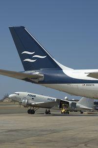 N502TA @ BQN - Tradewinds Airbus A300F