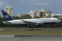 N646US @ SJU - US Airways Boeing 767-200
