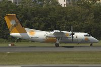 N825PH @ SJU - Carribean Sun Dash8-100