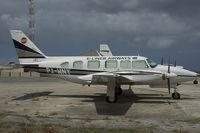 PJ-WNY @ CUR - E-Liner Airways Piper 31 Navajo