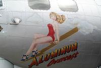 N5017N @ FRG - Aluminum Overcast visiting Republic