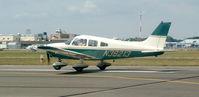 N38213 @ FRG - Archer 213, rolling RWY 19.