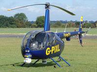 G-PIXL @ EGBO - Robinson R44 Raven II - by Robert Beaver