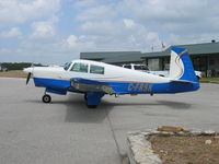 C-FRSK @ 1T7 - Our M20C with new blue & white Millenium paint scheme - by Roy Sanwalka