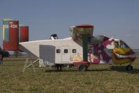 OE-FDK - Pink Aviation Skyvan at Aspersdorf