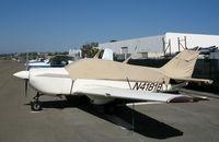 N4181B @ OKB - Bellanca 17-30A with cover @ Oceanside Municipal Airport, CA