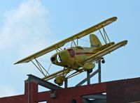 N116JF - This Smith Mini Plane was written off under mysterious circumstances; it now adorns the rooftop of Congo Outfitters, a clothing store in Ocean City, NJ. Taken with a Lumix camera, 400-mm lens. - by Daniel L. Berek