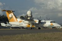 N387BC @ SXM - Carribean Sun Dash8-100