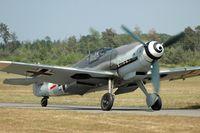 D-FWME - Messerschmitt Me-109 at the Haguenau airshow - by Volker Hilpert
