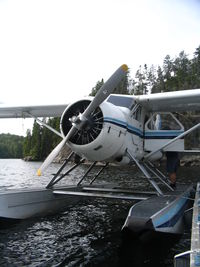 C-FEYR - deHavilland DHC-2 Beaver owned by Kashabowie Outposts.  s/n 497 - by Laura Marxen