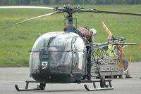 D-HBJI @ SCN - Aérospatiale SA318 Alouette II - by Volker Hilpert