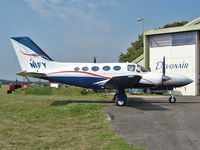 N1FY @ EGBP - Cessna 421C Golden Eagle