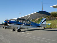N2363F @ L18 - 1966 Champion 7ECA @ Fallbrook Community Airpark Airport (!), CA