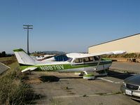 N8879V @ L18 - 1974 Cessna 172M visiting from Coarsegold, CA @ Fallbrook Community Airpark Airport (!), CA - by Steve Nation