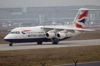 G-CFAB @ FRA - British Aerospace Avro Regionaljet RJ 100 - by Volker Hilpert