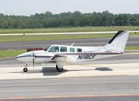 N118CF @ PDK - Taxing past Mercury Air Service - by Michael Martin