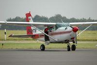 D-EHTM @ LUX - Cessna 206 - by Volker Hilpert