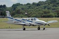 D-IAGC @ SCN - Cessna 340 - by Volker Hilpert