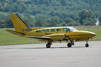D-IDOS @ SCN - Cessna 404 - by Volker Hilpert