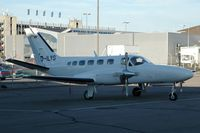 D-ILYS @ SCN - Cessna 441 Conquest II