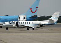 D-CSUN @ SCN - Cessna 560 - by Volker Hilpert