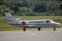 D-CAWU @ SCN - Cessna 560 Citation V - by Volker Hilpert