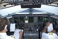 OE-LGD @ TXL - Austrian Arrows Dash 8-400 after take off