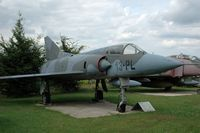 BA35 - Dassault-Breguet Mirage V stored at Hermeskeil Museum Germany - by Volker Hilpert