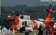 6003 @ NTU - Coast Guard helo in from Elizabeth City CGAS - by Paul Perry