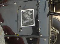 N59031 @ SZP - 1941 Boeing Stearman A75N1, Continental W670 220 Hp, Maintenance instruction plate - by Doug Robertson