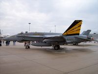 164716 @ KRFD - F/A-18 - by Mark Pasqualino