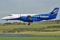G-MAJP @ IOM - Eastern Airways Jetstream 41 landing - by Andy Marks