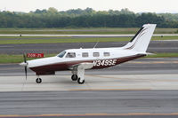 N349SE @ PDK - Taxing to hanger - by Michael Martin