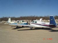 C-GMWM @ JR3 - Visit to The Pas MB. Grace Lake Airport JR3 - by Steve Maksymetz