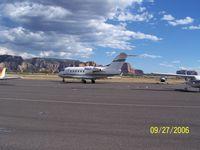 N666CT @ SEZ - Sedona Airport  Just landed - by John Madzik