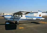 N7232M @ MYV - 1958 straight-tail Cessna 175from Denver, CO @ Yuba County Airport (Marysville), CA