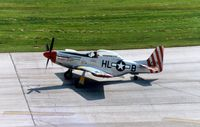 N151TF @ CID - new paint scheme - by Glenn E. Chatfield
