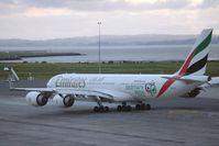 A6-ERF @ AKL - The long range A340-500 - by Micha Lueck
