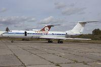 CCCP-65874 @ RIX - Tupolev 134 used as firetrainer - by Yakfreak - VAP