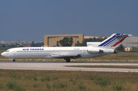 F-GCDE @ LIS - Air France Boeing 727-200