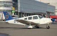 D-EGPA @ SCN - Piper PA-28 Cadet II - by Volker Hilpert